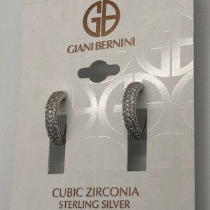 Brand New Giani Bernini Sterling Silver Earrings